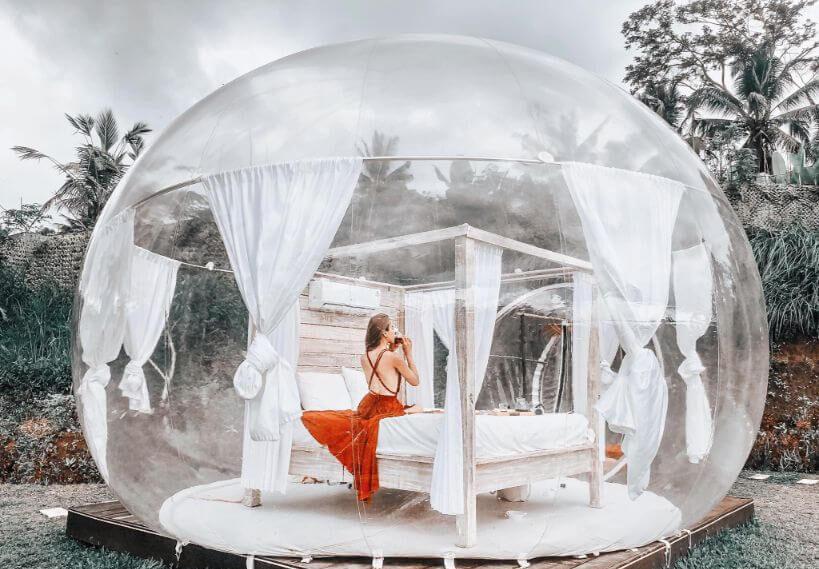 Bubble Hotel Ubud Bali e1596890670494