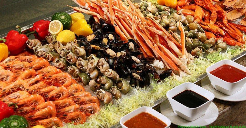 Món ngon hải sản ở Phú Quốc