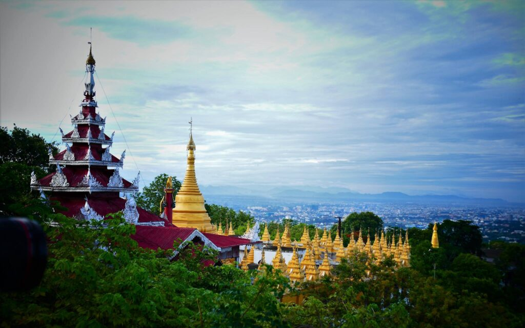 Mandalay Hill bagan
