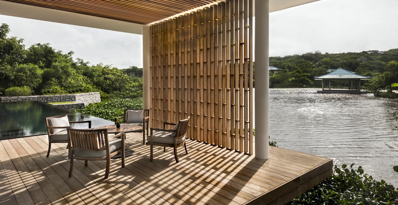 amanoi vietnam lake wellness pool villa high res 12272