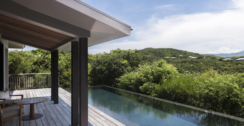 amanoi vietnam ocean pool villa terrace high res 15058