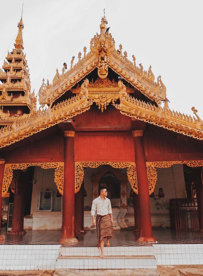 Chùa vàng Shwedagon Pagoda