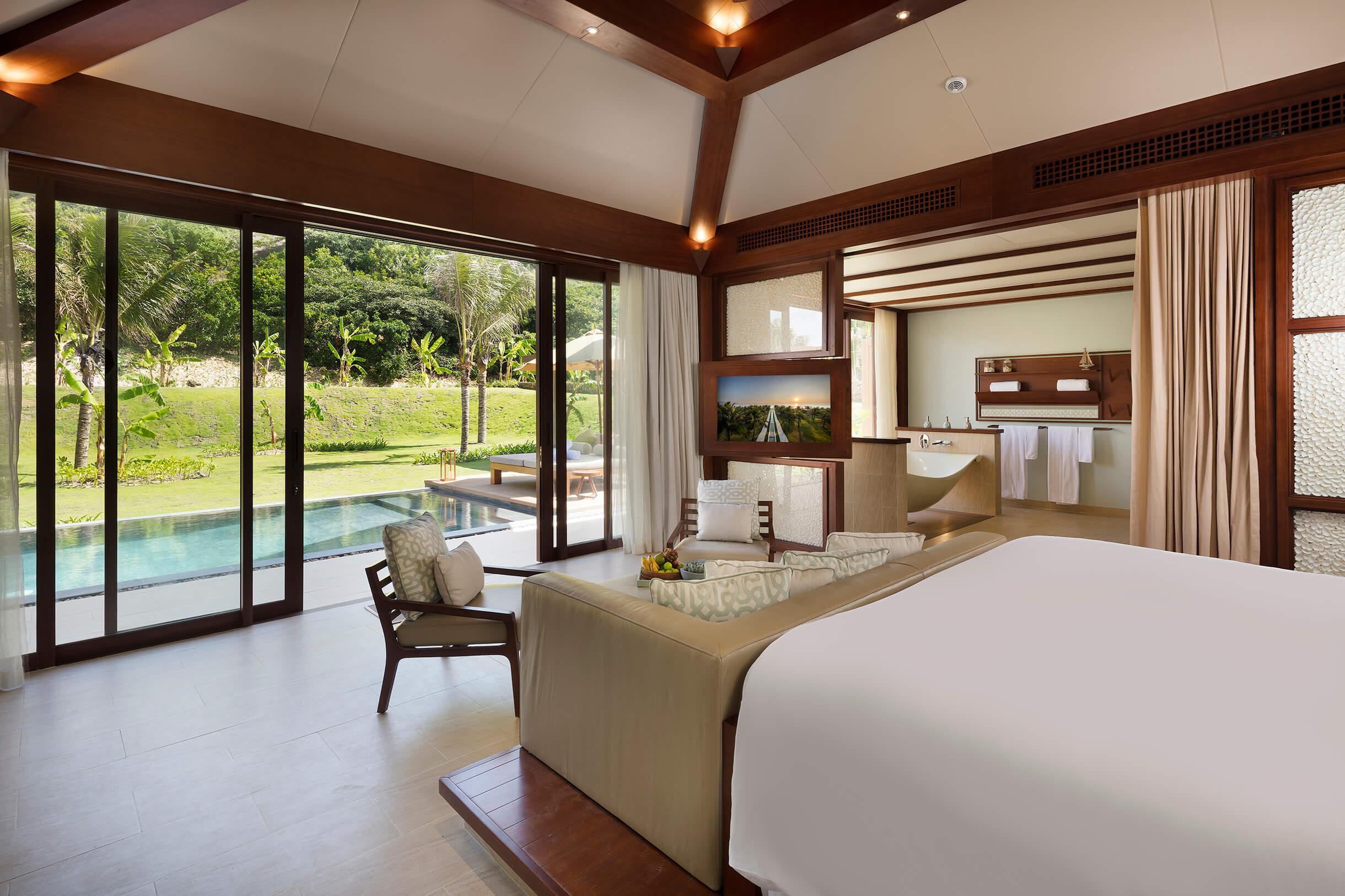 fusion resort cam ranh garden pool villa 03