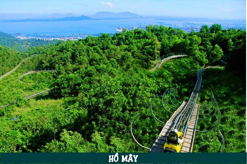 Hồ Mây nằm ở địa chỉ: 1A đường Trần Phú, phường 1, thành phố Vũng Tàu, tỉnh Bà Rịa - Vũng Tàu, Việt Nam