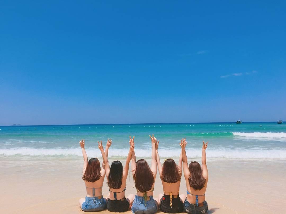 Kỳ Co trở thành điểm check in yêu thích của giới mê du lịch