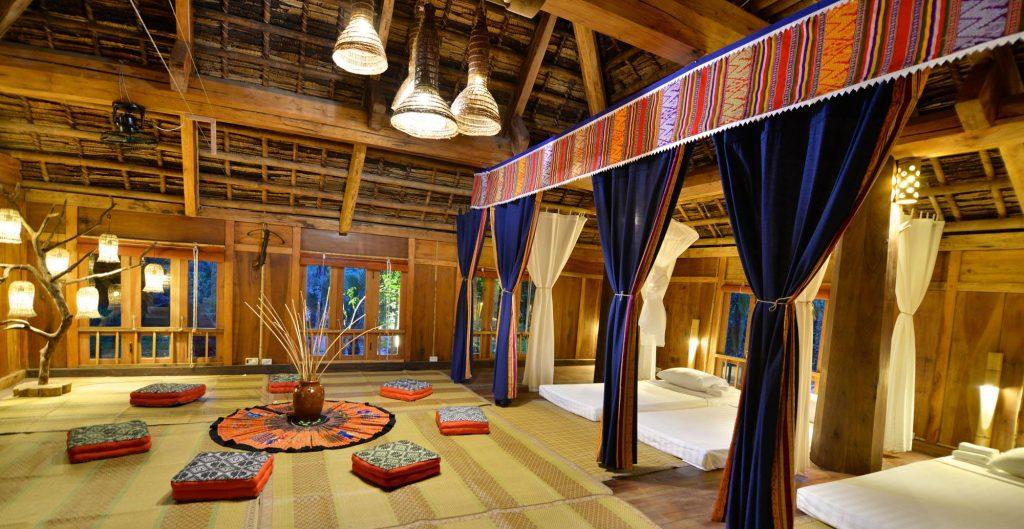Phòng dorm của Retreat Homestay Pù Luông