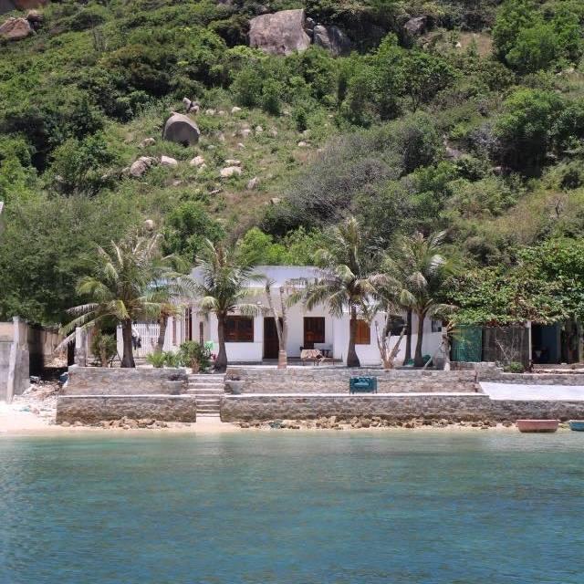 Một homestay xinh đẹp trên đảo Bình Hưng