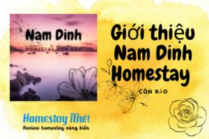 Giới Thiệu Nam Dinh Homestay Côn Đảo