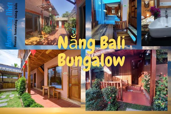 Bên ngoài Nắng Bali Bungalow