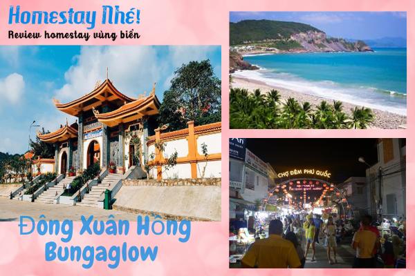 Địa điểm du lịch nổi tiếng gần Đông Xuân Hồng Bungalow