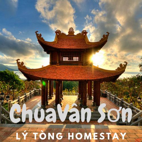 Chùa Vân Sơn gần Lý Tòng Homestay