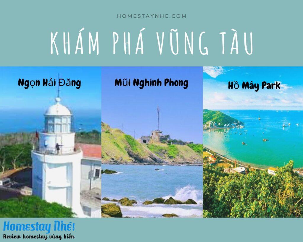 Các điểm du lịch nổi tiếng Vũng Tàu