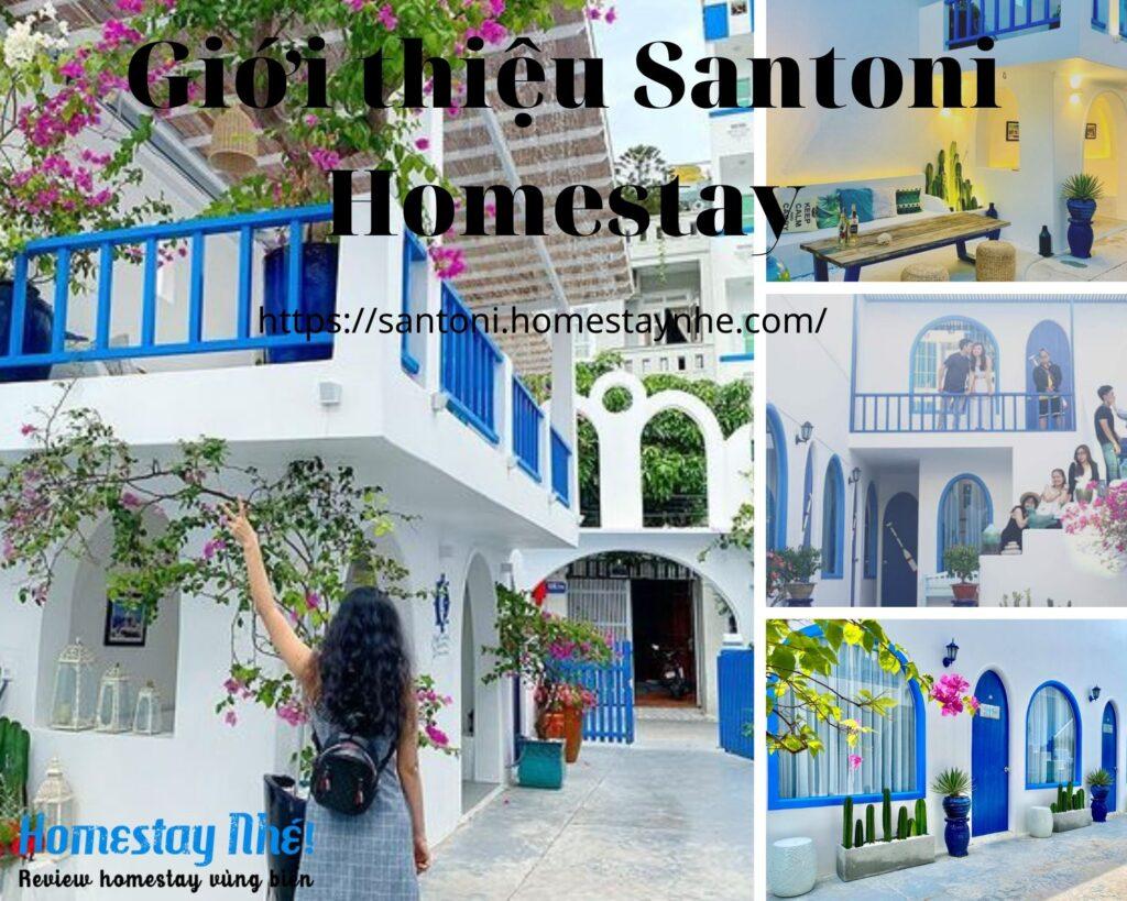 Giới thiệu Santoni homestay