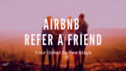 Airbnb Refer a Friend